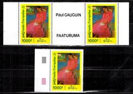 Polynésie YT N° 463 Et 463A Neufs ** MNH. TB. A Saisir! - Unused Stamps