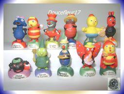 Drôles De Petites Bêtes ...11 Fèves.. Ref AFF : 2-2007..  ( Pan 0041) - Animals
