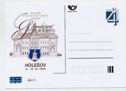 CZECH REPUBLIC 1999 4 Kc Holesov High School Centenary  Postcard Unused.  Michel P27-A1 - Postal Stationery