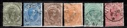 Italie Colis Postaux YT N° 1/6 Oblitérés. B/TB. A Saisir! - 1900-44 Vittorio Emanuele III