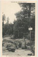 88 Vosges - Fontaine De La République A La Chapelotte Vallée De Celles Ed Aubry Celles Sur Plaine - Autres Communes