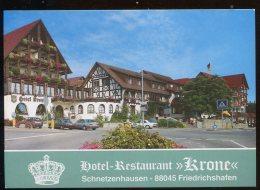 """CPM Neuve Allemagne FRIEDRICHSHAFEN Hôtel Restaurant """" Kröne """" - Friedrichshafen"""