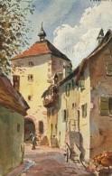 68/ ALSACE,  Walz, Vues Des Vosges (Illustrateur HANSI) - Francia