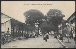 CPA VIETNAM - Saïgon, Rue Amiral-Dupré Et La Gare De Cholon - Viêt-Nam