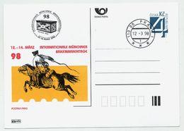 CZECH REPUBLIC 1998 Postcard Münchner Briefmarkentage Cancelled.  Michel P26-A9 - Postal Stationery