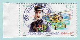 FRANCE 2017 - Poste Aérienne - PA 81 - Georges Guynemer 1894 - 1917 - Oblitéré - France