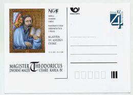 CZECH REPUBLIC 1997 Postcard Theodoricus Exhibition Unused.  Michel P26-A7 - Postal Stationery