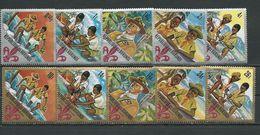 BURUNDI Scott 207-211, C41-C45 Yvert 238-242, PA57-PA61 (10) ** Cote 9,50 $ 1967 - 1962-69: Neufs