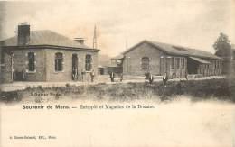 Souvenir De Mons - Entrepôt Et Magasins De La Douane - Mons