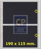 FOGLI UNI K211 X BANCONOTE - 2 Spazi Apertura Laterale - VENDITA Da 1 FOGLIO - Materiale