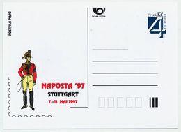 CZECH REPUBLIC 1997 Postcard NAPOSTA '97 Unused.  Michel P26-A3 - Postal Stationery