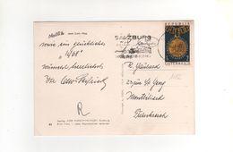 Timbre   Yvert N° 1082 Sur Cp , Carte , Postcard Du  17/12/1967 - 1945-.... 2. Republik