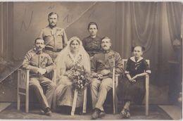 AUSTRIA,  K. U. K.  --  ORIGINAL PHOTO   --   OFFICER, ORDEN, SABEL  WEDING --   WW1 --    PC FORMAT - War, Military