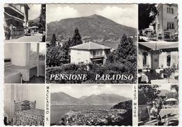 PENSIONE PARADISO - MACCAGNO S. LAGO MAGGIORE - LUINO - VARESE - Hotel's & Restaurants