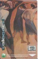 CARTE-MAGNETIQUE-CHYPRE-3£-PEINTURE T,Kanthos- August 74-(Invasion Turc)TBE - Chypre