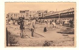 #11512[Postkaart] Blankenberge / Le Golf Miniature. / De Kleine Golf. / Nels / Ern. Thill [minigolf Man Spelen Blankenb - Blankenberge