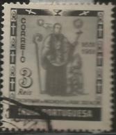 Portuguese India 1951 300th Anniv Of The Birth Of José Vaz A43 Canc - Christentum