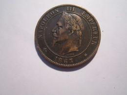 --1 Pièce 10 Centimes-1863-A-NAPOLEON-3-TTB+++SUP---- - 751-987 Monnaies Carolingiennes