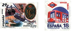 Ref. 85464 * MNH * - SPAIN. 1994. PUBLIC SERVICES . SERVICIOS PUBLICOS - Motos