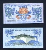 BHUTAN  -  2013  1 Ngultrum  UNC  Banknote - Bhutan