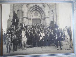 PHOTO ORIGINALE SOUVENIR DE LA MISSION DE COURCITE MAYENNE 19 MARS 1922 - Anciennes (Av. 1900)
