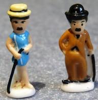 2 Fèves Charlot Charlie Chaplin Bubbles Inc. - Personnages