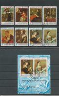 BURUNDI Scott 256-259, C84-C87, C87a Yvert 290-293, PA91-PA94, BF25 (8+bloc) O  Cote 5,00 $ 1968 - Burundi