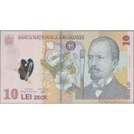 TWN - ROMANIA 119h - 10 Lei 1.12.2008 (2012) Polymer - Prefix 5C UNC - Romania