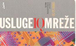 CARTE-PUCE-GEM2-1997-CROATIE-INFORMATIQUE-TBE - Croatie