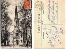 CHATEAU LA VALLIERE - L' Eglise - Beaux Cachets Perlés De LUBLE (Indre Et Loire Indice 5 )(103668) - Frankrijk
