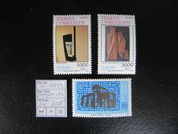 """1993  """" Kunst +Ahmet Yesevi """"  3 Werte  Sauber Postfrisch  LOT 305 - 1921-... Republik"""