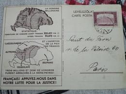 La HONGRIE Millénaire Et L'avorton De La Paix De Trianon . Français! Appuyez-nous Dans Notre Lutte Pour La Justice! - Evènements