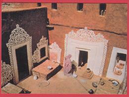 CPM- MAURITANIE - OUALATA - Maison Typique _ * SUP*** 2 SCANS* - Mauritania
