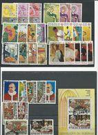 BURUNDI 7 Séries Complètes (32+bloc) O  Cote 16,00 $ 1969 - 1962-69: Oblitérés
