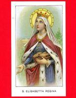 Santino - Immagini Sacre - Sant'Elisabetta Regina - Santini