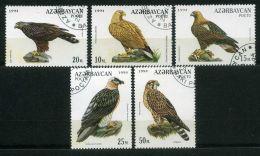AZERBAIDJAN ( POSTE ) : Y&T N°167/171 BELLE  SERIE COMPLETE DE TIMBRES  BIEN  OBLITERES , A  VOIR . - Azerbaïdjan