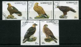 AZERBAIDJAN ( POSTE ) : Y&T N°167/171 BELLE  SERIE COMPLETE DE TIMBRES  BIEN  OBLITERES , A  VOIR . - Azerbaïjan