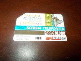 B682  Scheda Telefonica Da L.10000 Festival Della Musica - Schede Telefoniche