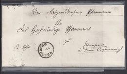 TCHECOSLOVAQUIE - Lettre De Pressburg Du 5 Mai 1856 - Cachets Pressburg Et Wien 5-5-56 - B/TB - - Tchécoslovaquie