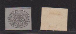 Etats Pontificaux   /  N 13 / 3 C Gris /  NEUF Sans Gomme - Trace De Charnière - Etats Pontificaux