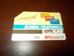 B682  Scheda Telefonica Concerto Da L.10000 - Schede Telefoniche