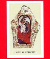 Santino - Immagini Sacre - Italia - Maria SS. Di Bisaccia - Montenero Di Bisaccia (CB) - Santini