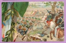 50° Anniversario Della Proclamazione Del Regno D'Italia - La Presa Di San Martino 1859 - Militari