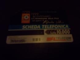 B682  Scheda Telefonica Da L.10000bicentenario Invenzione Pila - Schede Telefoniche
