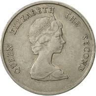 Monnaie, Etats Des Caraibes Orientales, Elizabeth II, 25 Cents, 1989, TTB - Caraïbes Orientales (Etats Des)