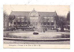 5000 KÖLN, FLORA, Wintergarten Und Terrasse, 190.. - Koeln
