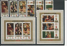BURUNDI Scott 303-305, C107-C109, 305a, C109a Yvert 342-344, PA117-PA119, BF35, BF36 (bloc) O Et **  Cote 7,00 $ 1969 - 1962-69: Neufs
