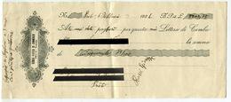CAMBIALE SCUOLA PRATICA DI COMMERCIO PRATO ANNO 1926 - Bills Of Exchange
