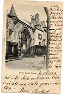 - CORBEIL - Porte St Spire (animée, Lunetterie Aubert)  -14047- - Corbeil Essonnes