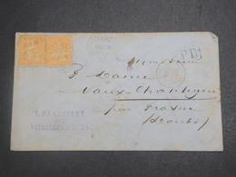 SUISSE - Enveloppe De Neuchatel Pour La France En 1878 - L 15018 - 1862-1881 Helvetia Assise (dentelés)